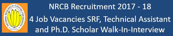 NRCB Govt. Jobs 2017